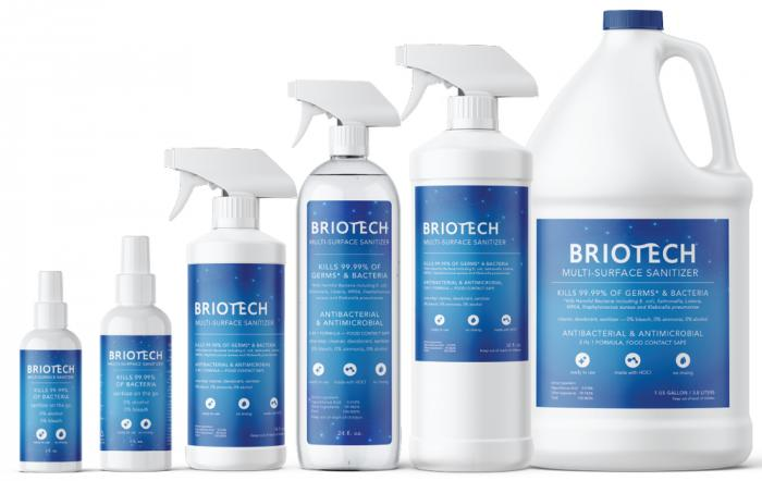 Briotech: 6 Ways to Safely Sanitize