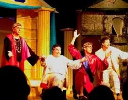 """The cast of """"A Funny Thing Happened on the Way to the Forum"""""""