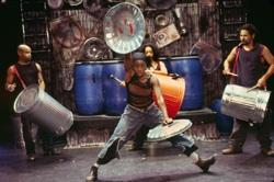 """The cast of """"STOMP"""""""