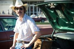 Matthew McConaughey  stars as Ron Woodroof in Jean-Marc Vallée's fact-based drama, 'Dallas Buyers Club'