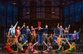The touring cast of 'Kinky Boots'