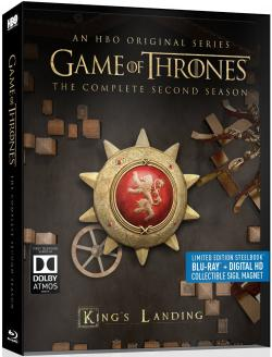 Game of Thrones - The Complete Second Season (Steelbook Edition)