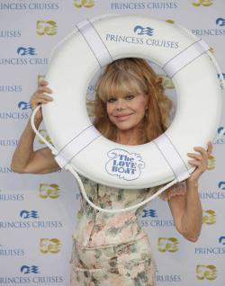 Performer Charo arrives onboard the Regal Princess at Port Everglades in Fort Lauderdale, Fla. in 2014.