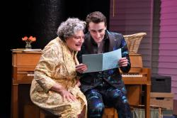 """Anne Scurria and Charlie Thurston in """"The Song of Summer"""" at the Trinity Rep through April 14."""