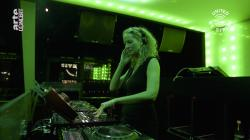 "Rundfunk Berlin-Brandenburg, DJ Monika Kruse performs a set as part of the ""United We Stream"" event at the club Watergate in Berlin."