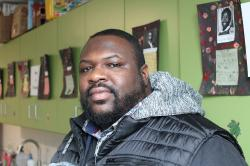 Pastor and mental health caseworker Darnell Hill.