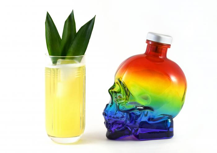 A Rainbow of Cocktails to Celebrate Pride