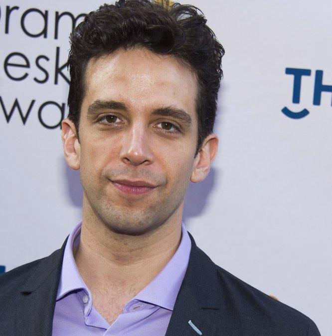 Nick Cordero arrives at the Drama Desk Awards in New York.