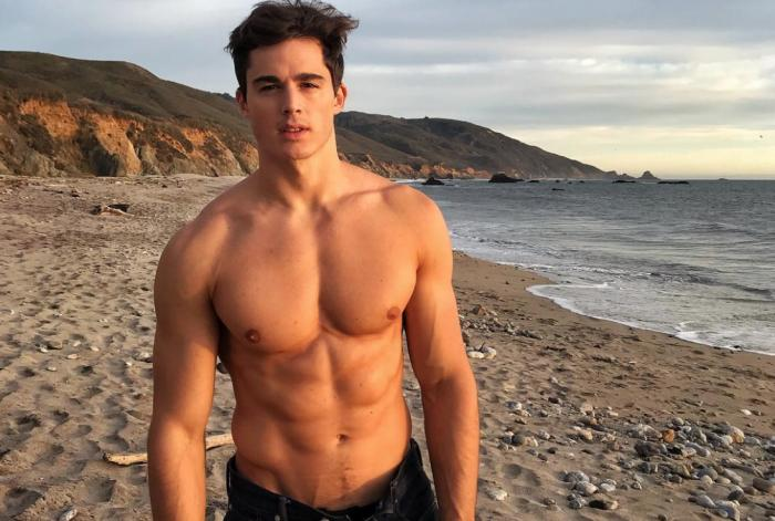 Fashion model Pietro Boselli