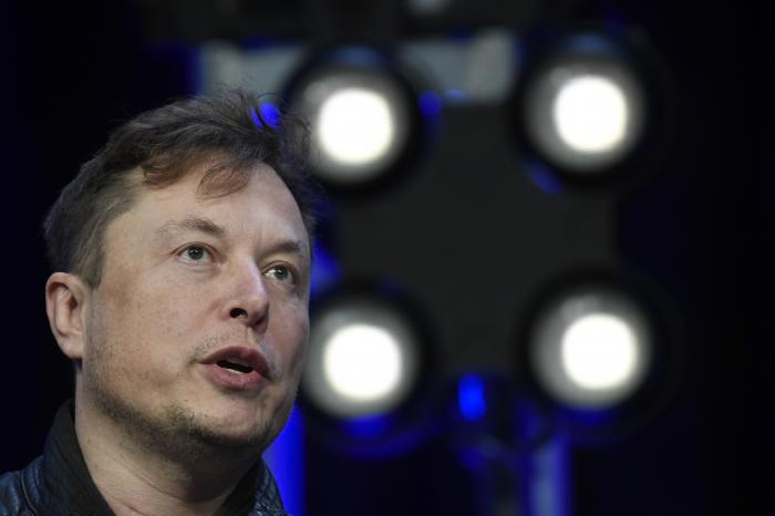 In this March 9, 2020, file photo, Tesla and SpaceX Chief Executive Officer Elon Musk