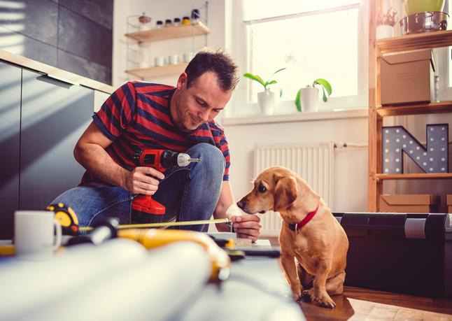 Homeowners Are Using Extra Time Inside to Improve Their Houses