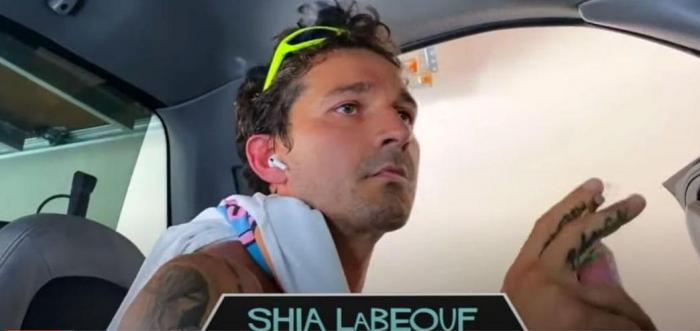 """Shia LaBeouf in the streamed table reading of """"Fast Times at Ridgemont High."""""""
