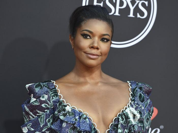 In this July 10, 2019, file photo, Gabrielle Union arrives at the ESPY Awards at the Microsoft Theater in Los Angeles