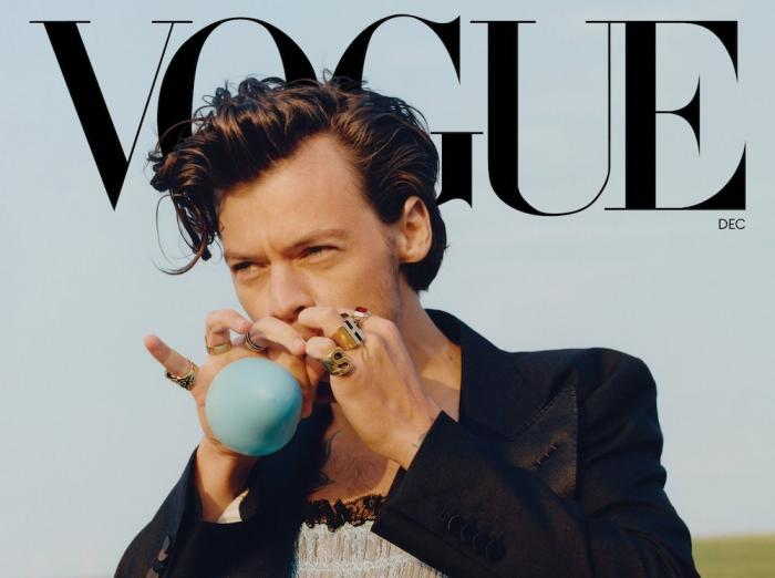 Harry Styles for Vogue magazine.