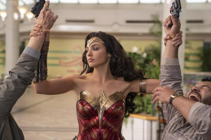 "Gal Gadot in a scene from ""Wonder Woman 1984."""