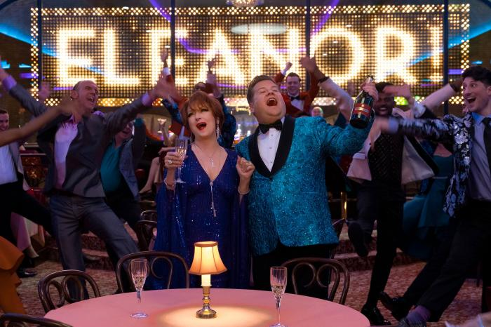 """Meryl Streep and James Corden in """"The Prom"""""""