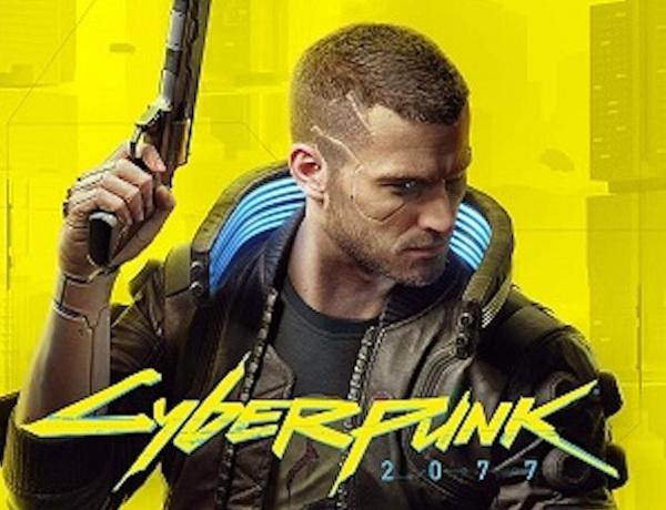 """The cover of """"Cyberpunk 2077."""""""