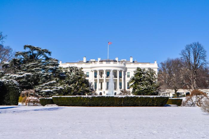 As Biden Gets Sworn In, White House Will Get Scrubbed Down