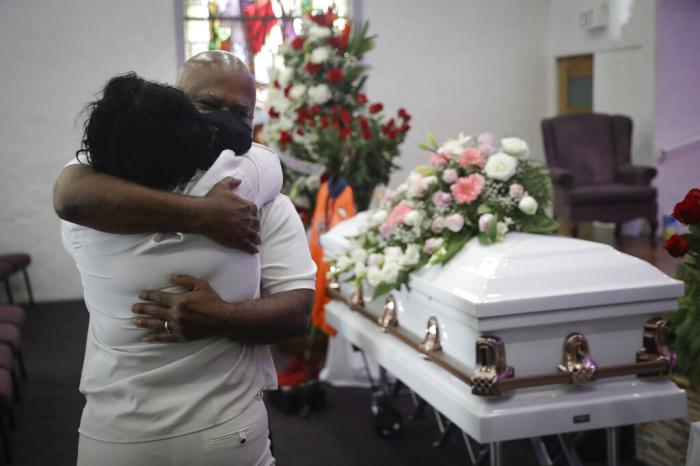 Southern California funeral homes are turning away bereaved families because they're running out of space for the bodies piling up during an unrelenting coronavirus surge.