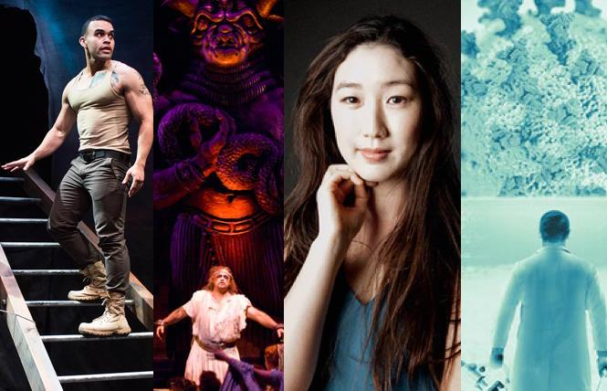 'Warplay,' 'Sampson and delilah,' pianist Samantha Cho, 'The Catastrophist'