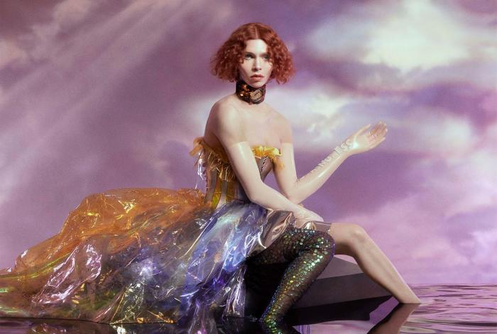 """The cover of Sophie's album """"Oil of Every Pearl's UnInsides.'"""""""