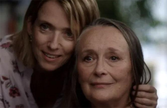 Barbara Sukowa and Martine Chevallier in 'Two of Us'