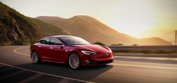 This photo provided by Tesla shows the 2021 Tesla Model S, a premium electric sedan with an estimated range of 412 miles