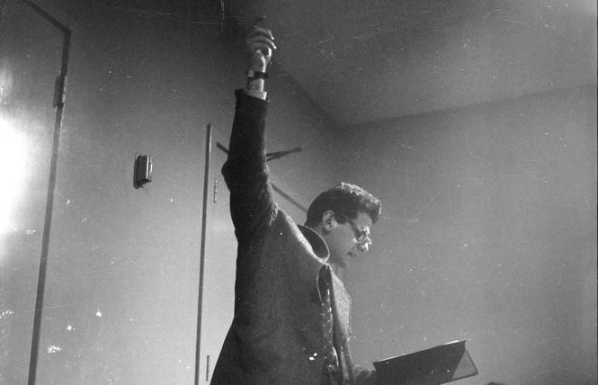 Allen Ginsberg reading 'Howl' in November 1955