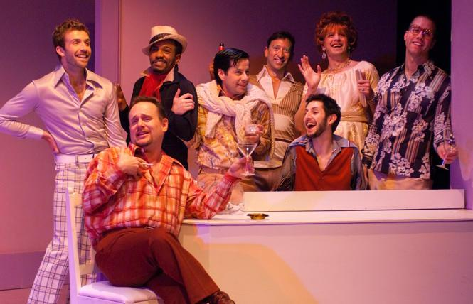 New Conservatory Theatre Center's fab production of 'Some Men' in 2009