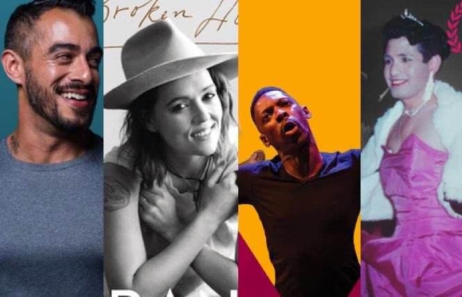 'Hunks n' Housewives' with Pablo at Oasis; Brandi Carlile; Rotimi Agbabiaka's 'Manifesto;' 'Nelly Queen: The Life & Times of José Sarria' at GLBT Historical Society