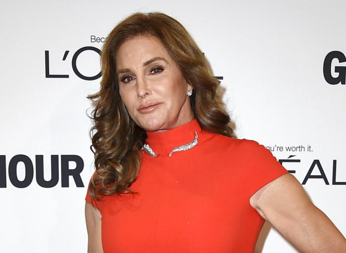 In this Nov. 14, 2016 file photo, Caitlyn Jenner arrives at the Glamour Women of the Year Awards in Los Angeles.