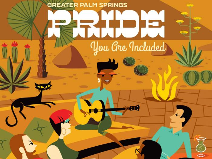 'You Are Included' :: Palm Springs Pride a Community Coming Out Celebration