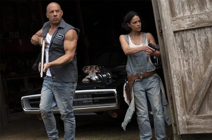 Vin Diesel and Michelle Rodriguez in F9 / Universal