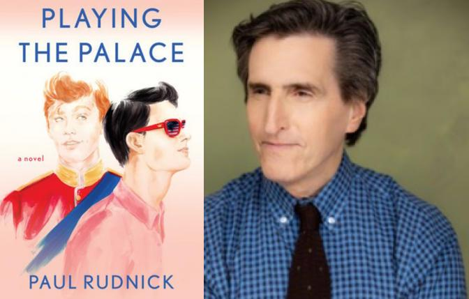 author and playwright Paul Rudnick