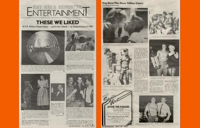 Entertainments bests, and a popular Dog Show in 1982