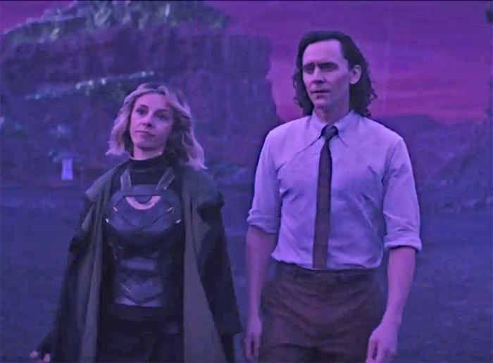 Purple haze: Fans celebrated Epsiode 3's reveal, along with its 'bisexual lighting.'