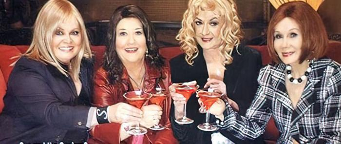 """Sally Struthers, Charlotte Rae, Beatrice Arthur and Katherine Helmund in the """"Sex and the Classics"""" skit from the 2006 TV Land Awards"""