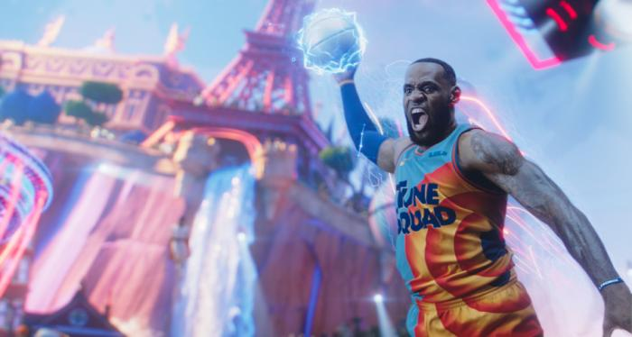 """This image released by Warner Bros. Entertainment shows Lebron James in a scene from """"Space Jam: A New Legacy."""""""