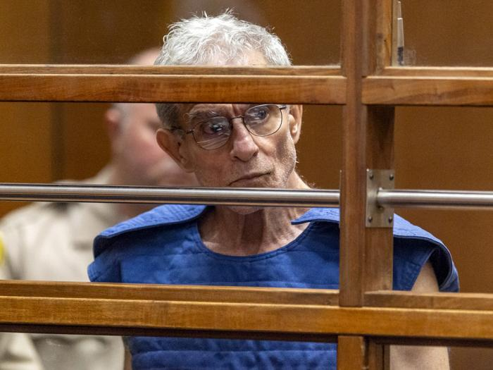 In this Sept. 19, 2019, file photo, Ed Buck appears in Los Angeles Superior Court in Los Angeles
