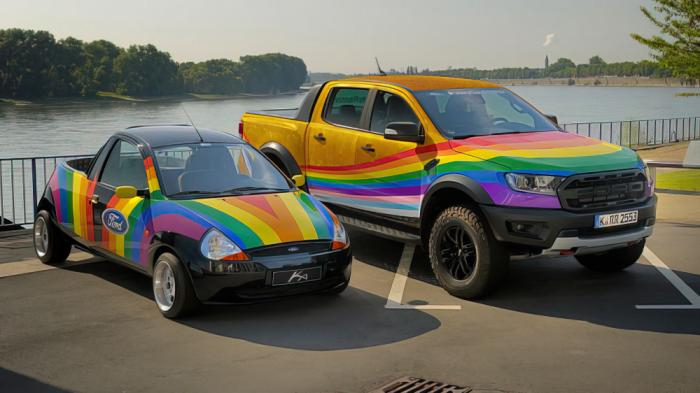 """The """"Rainbow Raptors"""" from Ford"""