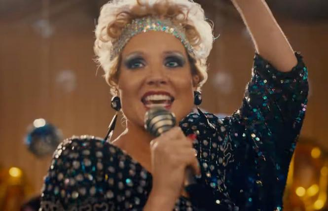 Jessica Chastain in 'The Eyes of Tammy Faye'